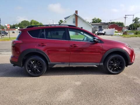 2018 Toyota RAV4 for sale at Faw Motor Co in Cambridge NE