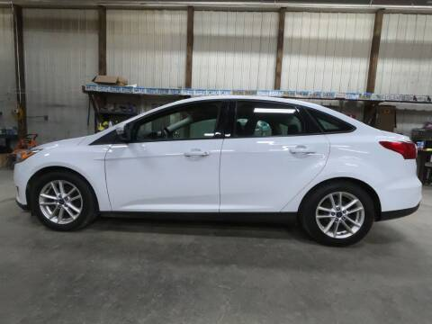 2016 Ford Focus for sale at Alpha Auto - Mitchell in Mitchel SD