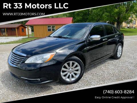 2014 Chrysler 200 for sale at Rt 33 Motors LLC in Rockbridge OH