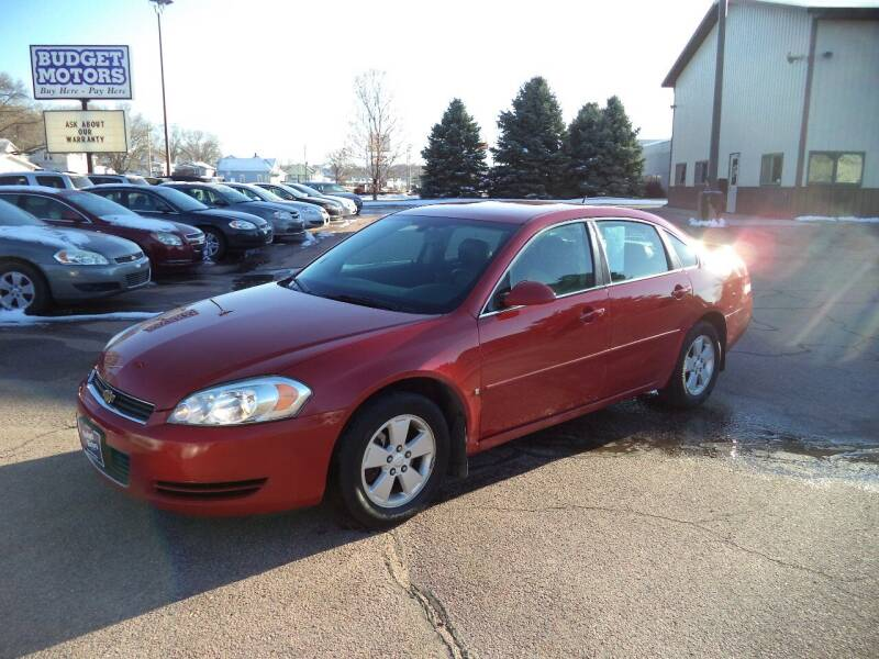 2008 Chevrolet Impala for sale at Budget Motors - Budget Acceptance in Sioux City IA