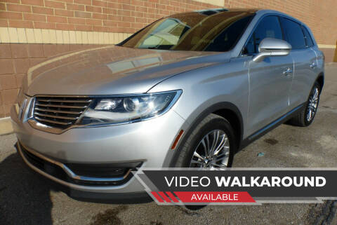 2017 Lincoln MKX for sale at Macomb Automotive Group in New Haven MI