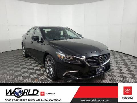 2017 Mazda MAZDA6 for sale at CU Carfinders in Norcross GA