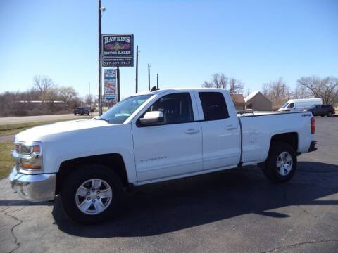 2017 Chevrolet Silverado 1500 for sale at Hawkins Motors Sales - Lot 1 in Hillside MI