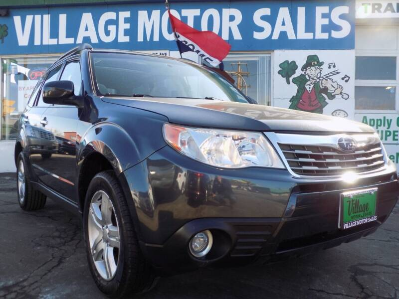 2009 Subaru Forester for sale at Village Motor Sales in Buffalo NY