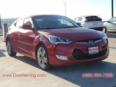 2016 Hyundai Veloster for sale at DON HERRING MITSUBISHI in Irving TX
