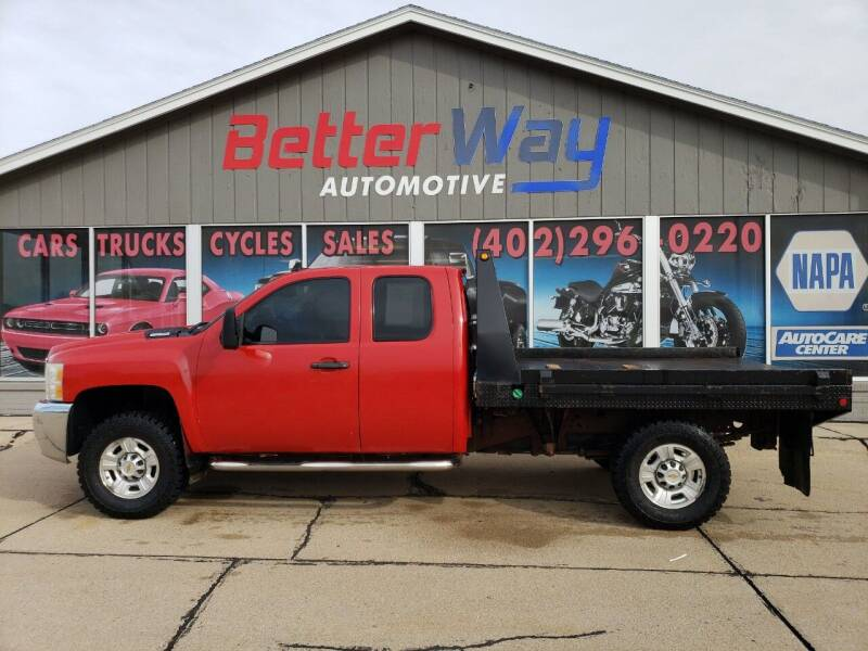 2009 Chevrolet Silverado 2500HD for sale at Betterway Automotive Inc in Plattsmouth NE
