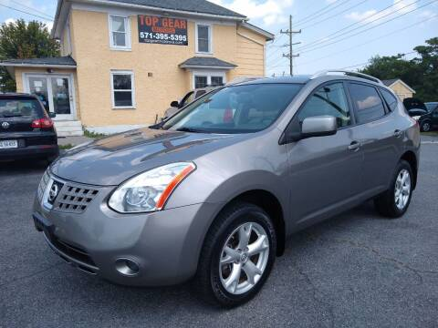 2009 Nissan Rogue for sale at Top Gear Motors in Winchester VA