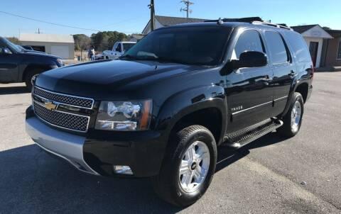 2011 Chevrolet Tahoe for sale at TAVERN MOTORS in Laurens SC