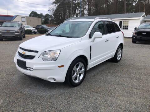 2014 Chevrolet Captiva Sport for sale at Robert Sutton Motors in Goldsboro NC