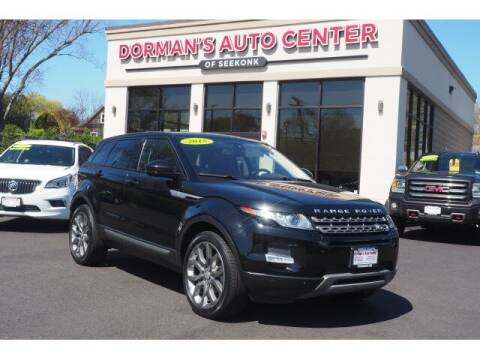 2015 Land Rover Range Rover Evoque for sale at DORMANS AUTO CENTER OF SEEKONK in Seekonk MA