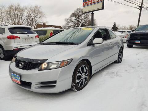 2011 Honda Civic for sale at Peter Kay Auto Sales in Alden NY