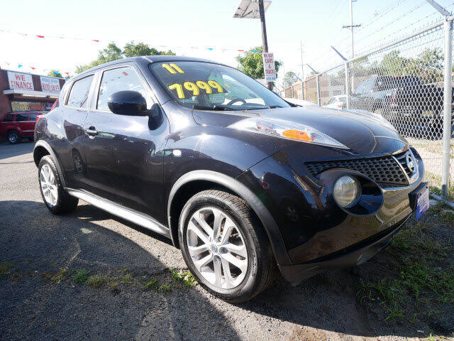 2011 Nissan JUKE for sale at MICHAEL ANTHONY AUTO SALES in Plainfield NJ