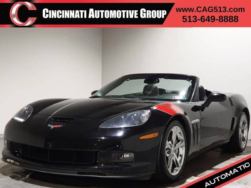 2011 Chevrolet Corvette for sale at Cincinnati Automotive Group in Lebanon OH