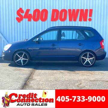 2007 Kia Rondo for sale at Credit Connection Auto Sales in Midwest City OK