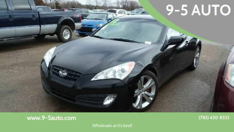 2012 Hyundai Genesis Coupe for sale at 9-5 AUTO in Topeka KS