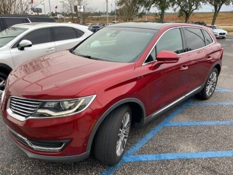 2016 Lincoln MKX for sale at JOE BULLARD USED CARS in Mobile AL