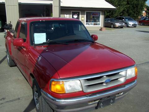 1995 Ford Ranger for sale at M & M Auto Sales LLc in Olympia WA