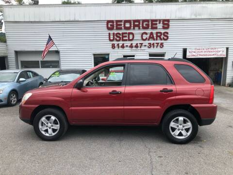 2009 Kia Sportage for sale at George's Used Cars Inc in Orbisonia PA