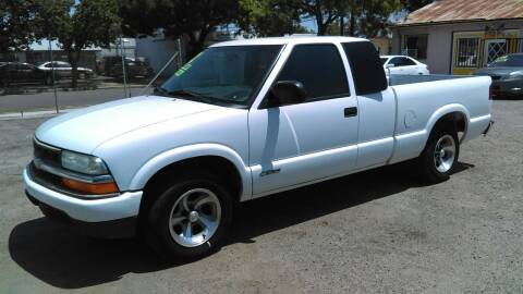 2002 Chevrolet S-10 for sale at Larry's Auto Sales Inc. in Fresno CA