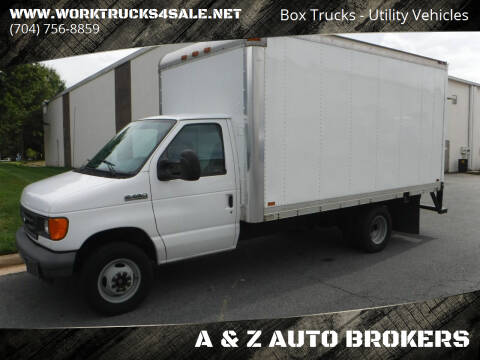2007 Ford E-Series Chassis for sale at A & Z AUTO BROKERS in Charlotte NC