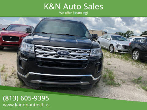 2018 Ford Explorer for sale at K&N Auto Sales in Tampa FL