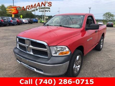 2011 RAM Ram Pickup 1500 for sale at Carmans Used Cars & Trucks in Jackson OH