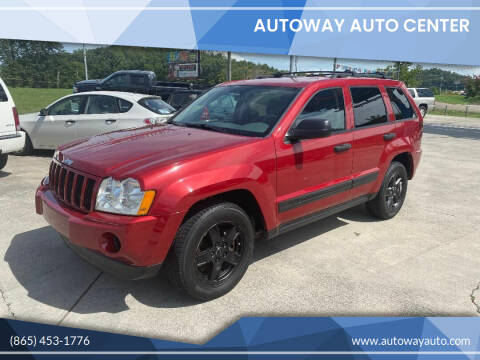 2006 Jeep Grand Cherokee for sale at Autoway Auto Center in Sevierville TN