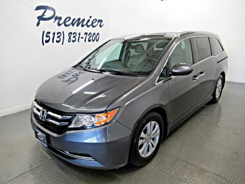 2014 Honda Odyssey for sale at Premier Automotive Group in Milford OH