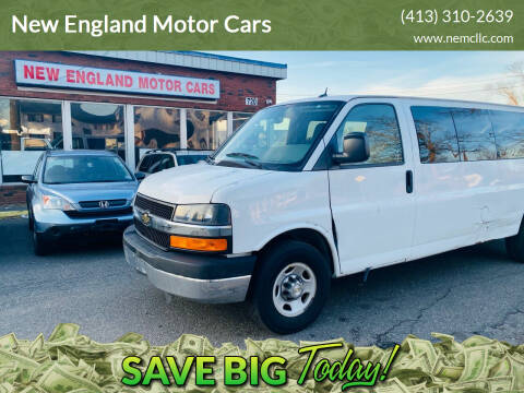 2013 Chevrolet Express Passenger for sale at New England Motor Cars in Springfield MA
