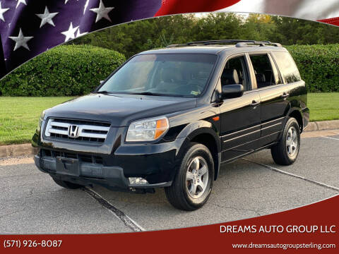 2006 Honda Pilot for sale at Dreams Auto Group LLC in Sterling VA