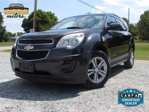 2014 Chevrolet Equinox for sale at High-Thom Motors in Thomasville NC