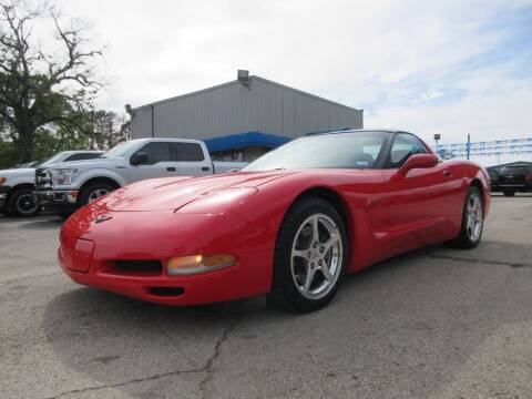 1997 Chevrolet Corvette for sale at Quality Investments in Tyler TX