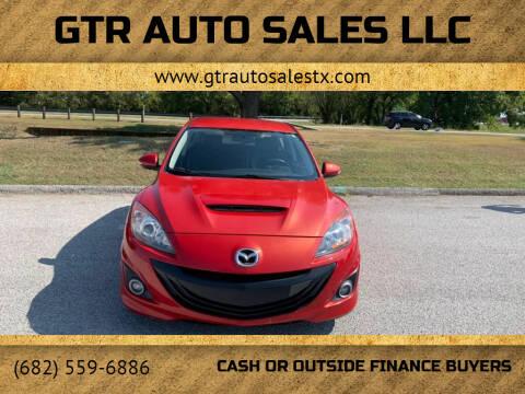 2010 Mazda MAZDASPEED3 for sale at GTR Auto Sales LLC in Haltom City TX