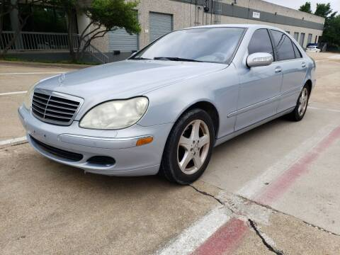 2004 Mercedes-Benz S-Class for sale at ZNM Motors in Irving TX