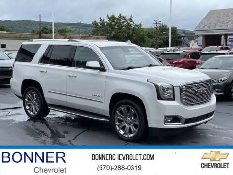 2016 GMC Yukon for sale at Bonner Chevrolet in Kingston PA