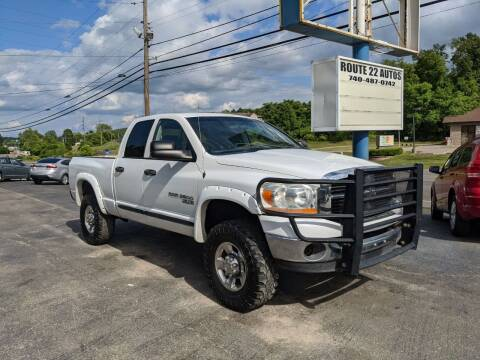 2006 Dodge Ram Pickup 2500 for sale at Route 22 Autos in Zanesville OH