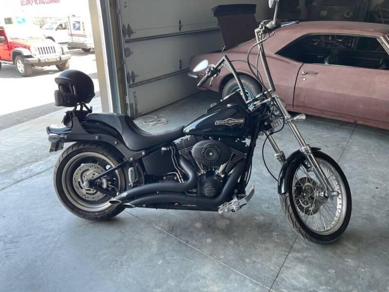 2009 HARLEY DAVIDSON FXSTB for sale at In Motion Sales LLC in Olathe KS