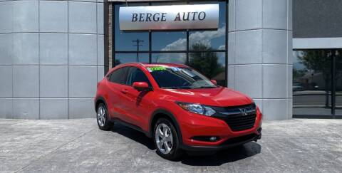 2017 Honda HR-V for sale at Berge Auto in Orem UT