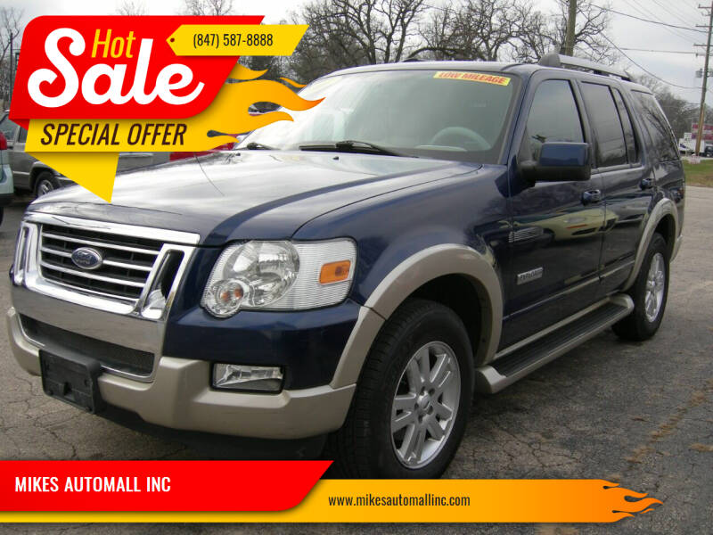 2007 Ford Explorer for sale at MIKES AUTOMALL INC in Ingleside IL