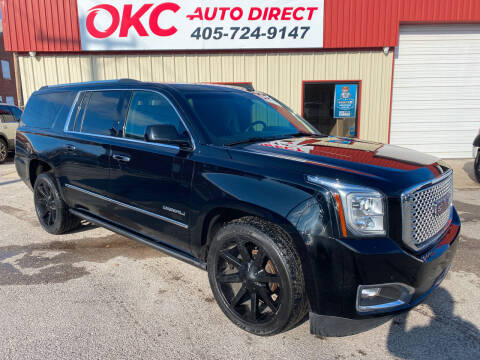 2015 GMC Yukon XL for sale at OKC Auto Direct in Oklahoma City OK