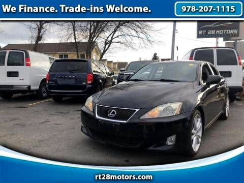 2007 Lexus IS 250 for sale at RT28 Motors in North Reading MA