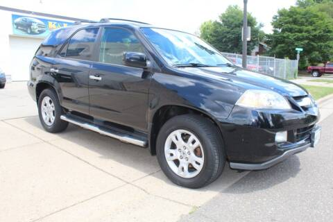 2006 Acura MDX for sale at K & L Auto Sales in Saint Paul MN