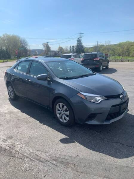 2014 Toyota Corolla for sale at WXM Auto in Cortland NY