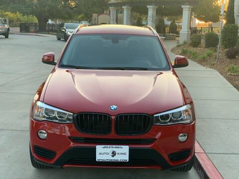 2015 BMW X3 for sale at Auto King in Roseville CA