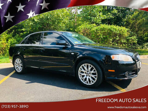 2008 Audi A4 for sale at Freedom Auto Sales in Chantilly VA