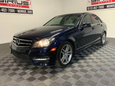 2014 Mercedes-Benz C-Class for sale at SIRIUS MOTORS INC in Monroe OH