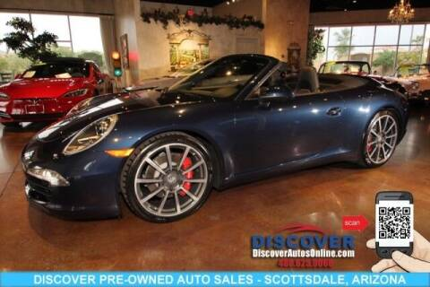 2014 Porsche 911 for sale at Discover Pre-Owned Auto Sales in Scottsdale AZ