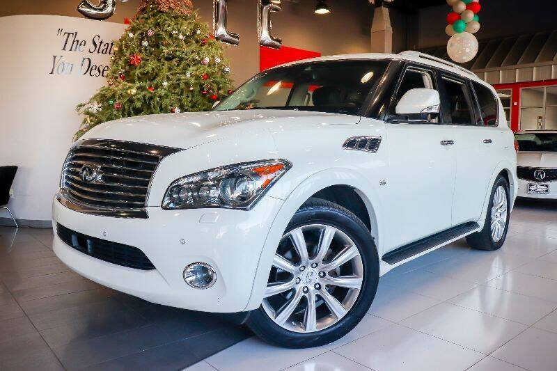2014 Infiniti QX80 for sale at Quality Auto Center of Springfield in Springfield NJ