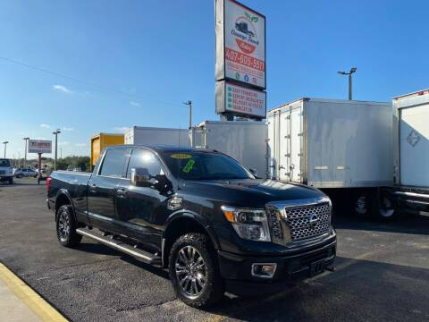2016 Nissan Titan XD for sale at Orange Truck Sales in Orlando FL