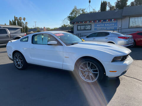 2011 Ford Mustang for sale at Blue Diamond Auto Sales in Ceres CA